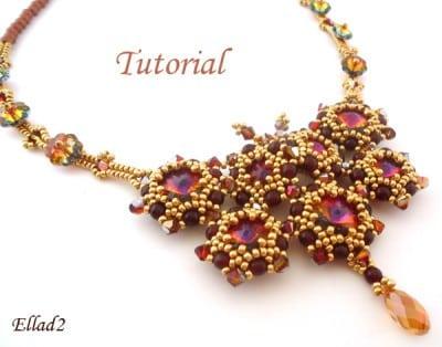 Tutorial Collar Señora Mariposa de Ellad2
