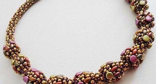 Collar Manon - Tutoriales y Patrones de Abalorios