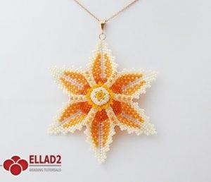 Esquema Colgante Flor Aviana de Ellad2