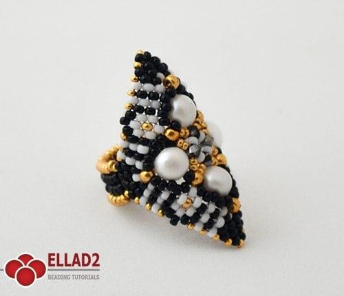 Tutorial de abalorios Anillo Zazu de Ellad2