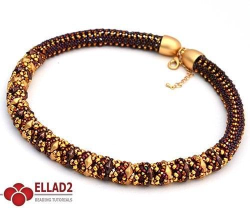Diamond Duo Collar esquema de Ellad2