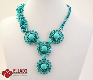 Tutorial Collar It Just Blooms de Ellad2