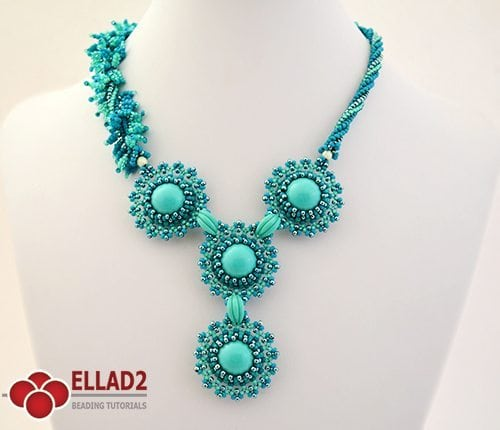 Tutorial Collar It Just Blooms de Ellad2
