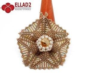 Tutorial Estrella Vega con abalorios de Ellad2