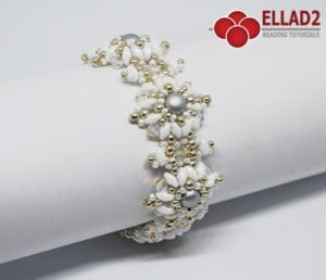 Tutorial de abalorios Pulsera Palla de Ellad2