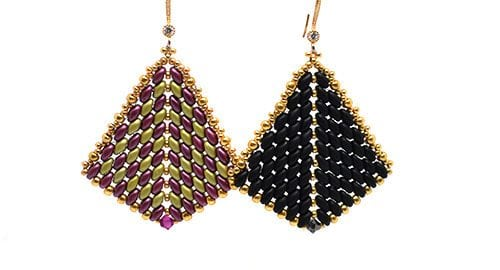 Aretes esquema Superduo Ladies Fan