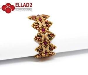 Tutorial de abalorios Nala Pulsera de Ellad2