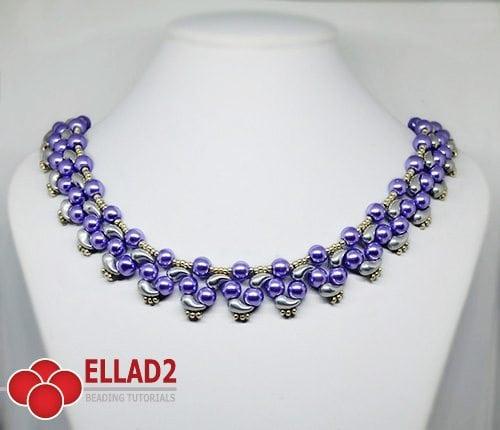 Tutorial Collar Prisha con Zoliduo de Ellad2