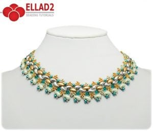 Collar Kani Esquema de abalorios de Ellad2