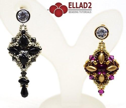 Tutorial Aretes Iris de Ellad2 con Irisduo cuentas
