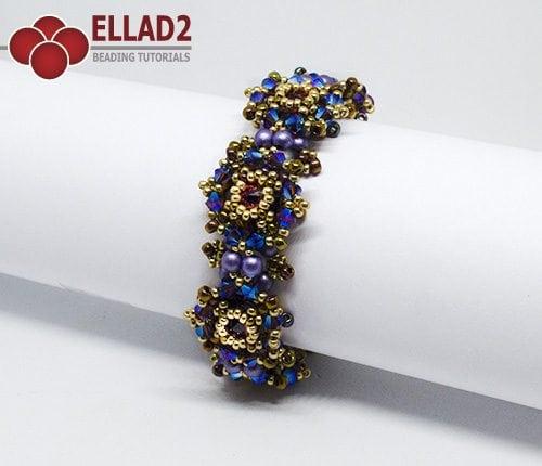 Tutorial de abalorios Pulsera Zara de Ellad2
