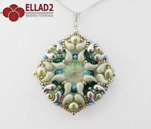 Esquema de abalorios Colgante Zuzu de Ellad2