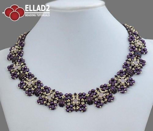Tutorial de abalorios Collar Katja de Ellad2
