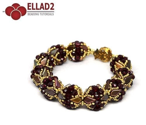 Tutorial Pulsera Kite de Ellad2