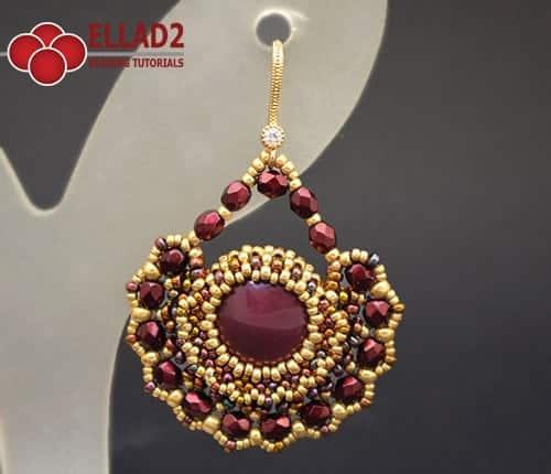Amato Orecchini Alma - Schemi e Tutorial di Perline di Ellad2 KG75