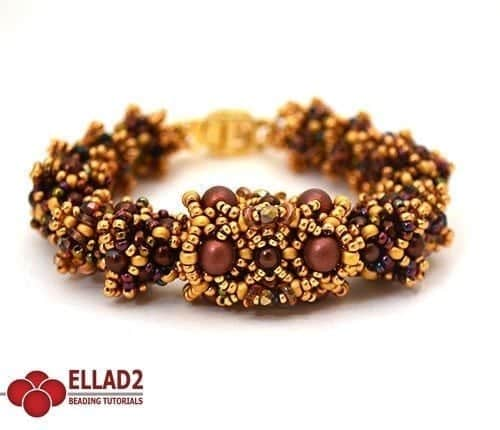 Tutorial di Perline Amabella Bracciale di Ellad2