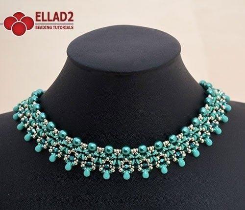 Collarino Hama - Schemi e Tutorial di Perline Ellad2