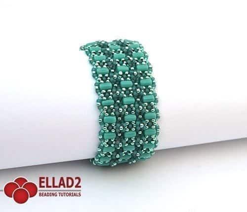 Amarante Bracciale - Schemi e Tutorial di Perline di Ellad2