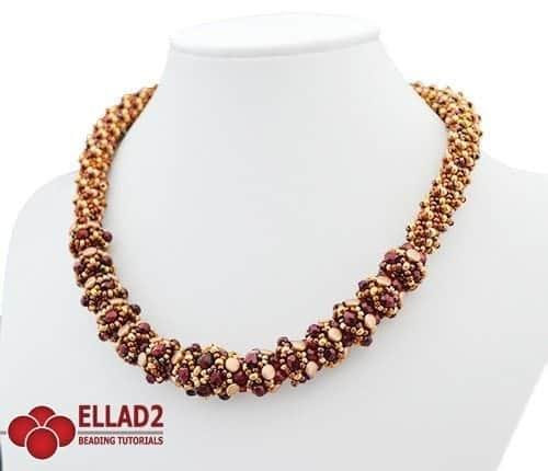 Collana Riana-Schemi e Tutorial di Perline Ellad2
