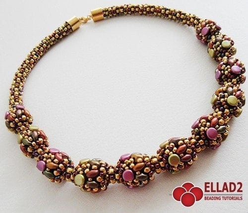 Tutorial con Pellet perles Collana Manon