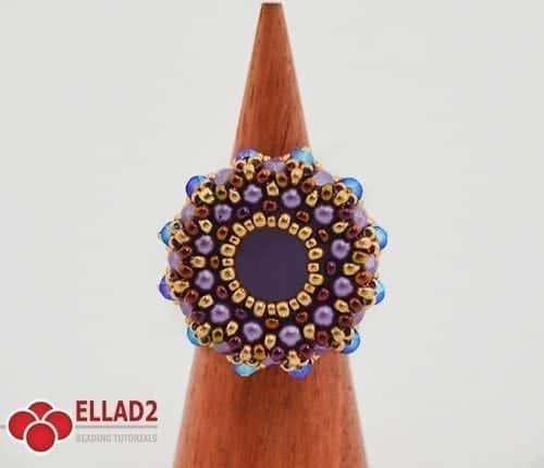 Tutorial di perline Anelli Amaru Ellad2