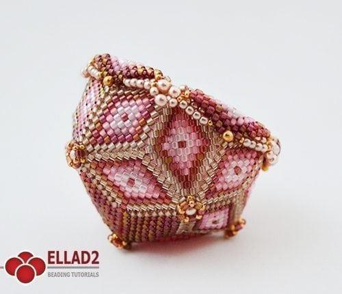 Tutorial di perline Ciotola di Ellad2