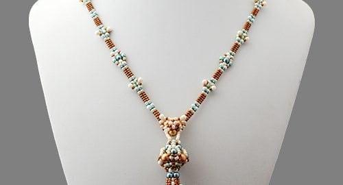 Tutorial di perline Collana Amalia di Ellad2