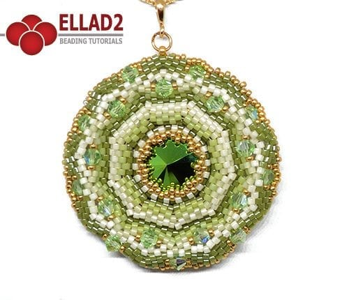 Schema di perline Ciondolo Agra di Ellad2