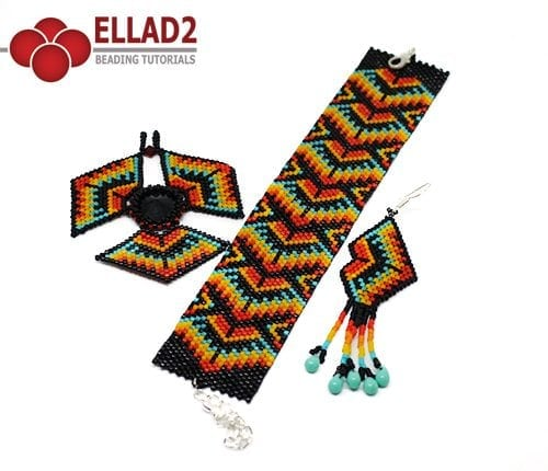 Tutorial di perline Set Dakota di Ellad2