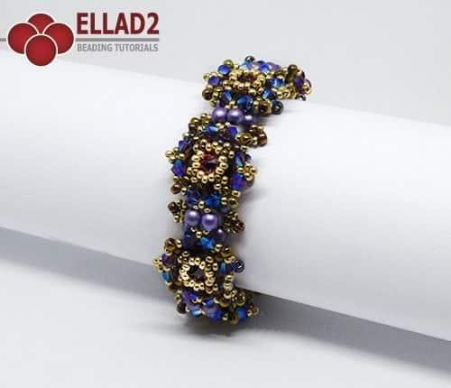 Schemi di perline Braccialetto Zara di Ellad2