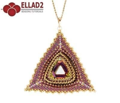 Tutorial di perline Pendente Maya Triangle di Ellad2