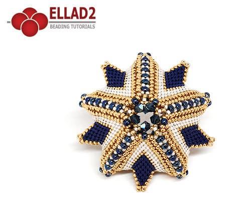 Schema di perline Polaris Stella di Ellad2