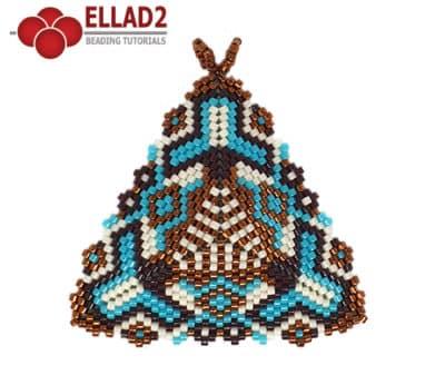 Schema di perline Triangolo 2 di Ellad2