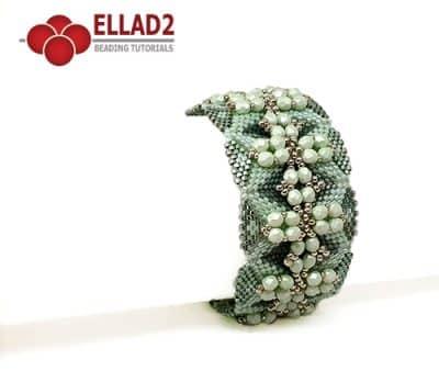 Tutorial di perline Bella Braccialeto di Ellad2