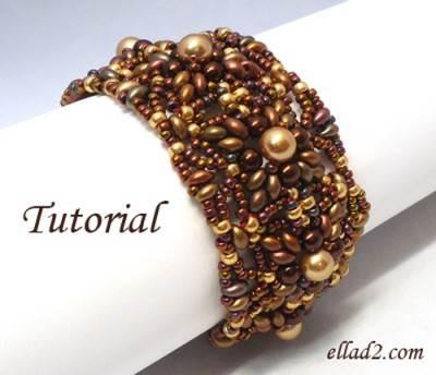 Kralen Patroon Medini armband Ellad2