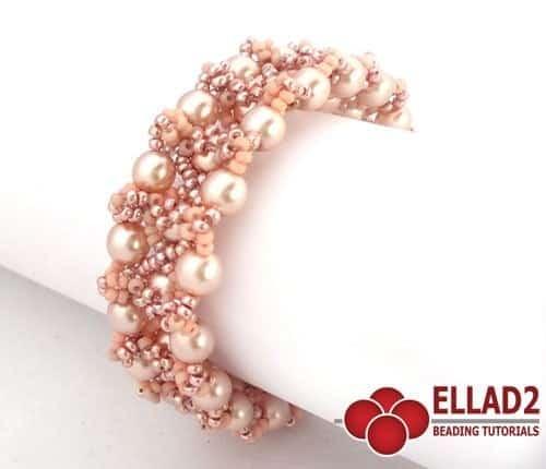 Kralen-patroon-Armband-Pearl-Blush-door-Ellad2