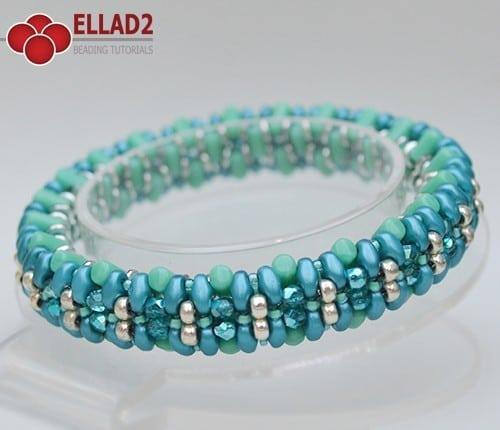 Kralen Tutorial Armband Rulleta von Ellad2