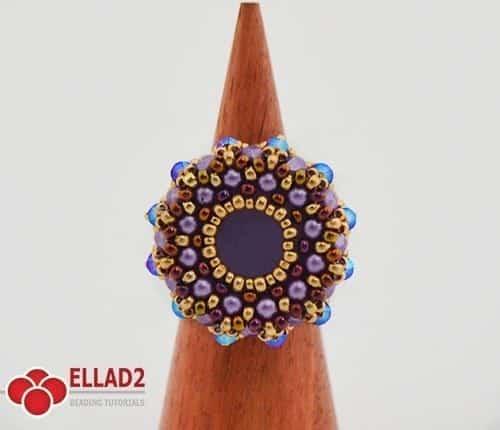 Kralen Tutorial Amaru Ring Ellad2
