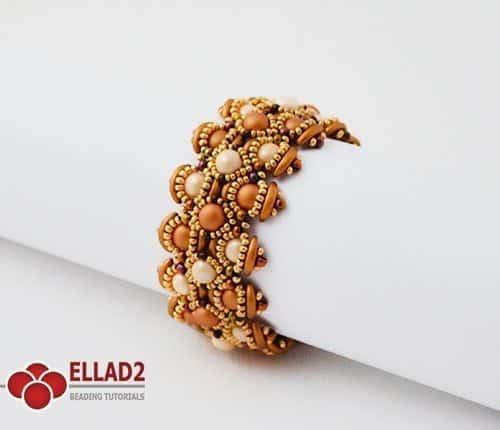 Kralen patroon Letitia Armband Ellad2