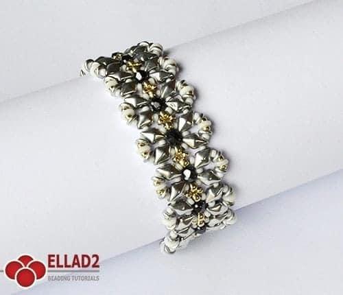 Kralen Tutorial Diamond Duo Ellad2