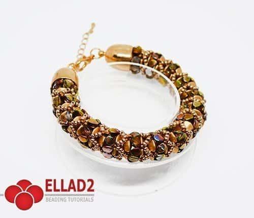 Kralen tutorial Zola Armband Ellad2