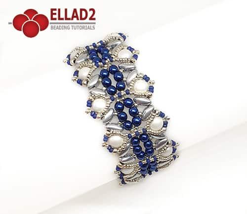 Kralen Patroon Iris Armband van Ellad2