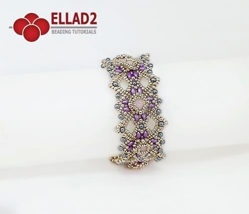 Kralen Tutorial Hannah Armband van Ellad2