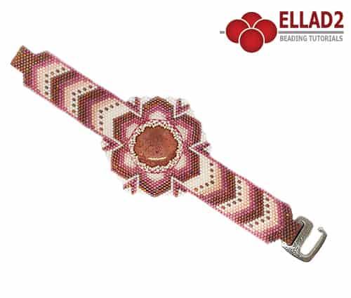 Kralen Tutorial Mandevilla Armband Ellad2 design