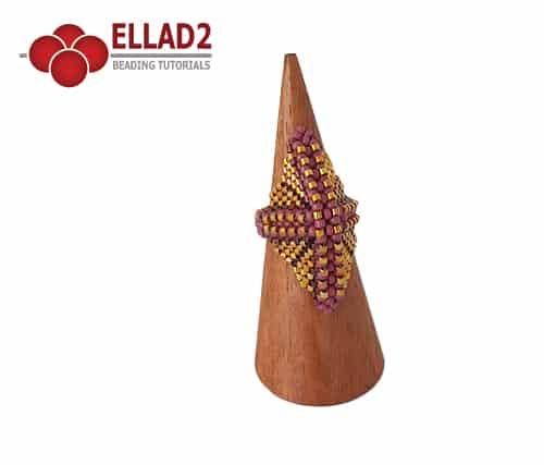 Kralen Tutorial Leah Ring van Ellad2