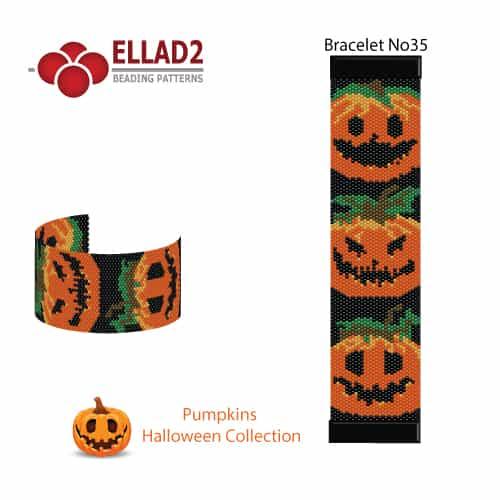 Halloween-Pumkins-Bracelet-No35