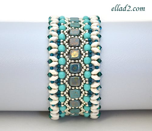 Peyote stitch bracelet patterns for beginners