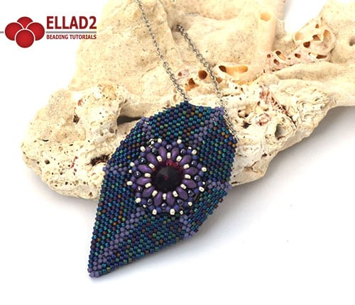 Koi pendant beading tutorials and patterns by ellad2 beading tutorial koi pendant aloadofball Image collections
