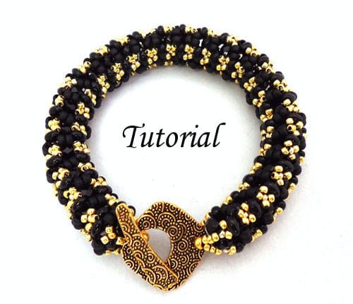 bangle bracelet beading tutorials and patterns by