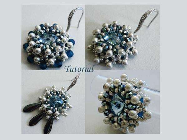 Beading Tutorial Blue Variety by Ellad2